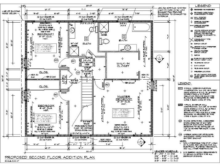 Contact for 2nd floor addition plans